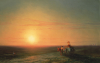 Peasants Returning From The Fields At Sunset by Ivan Konstantinovich Aivazovsky