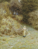 In The Primrose Wood by Helen Allingham