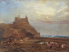 Harlech Castle, 1820 by Anthony Vandyke Copley Fielding