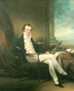 Portrait Of A Gentleman, Seated Small Full Length by George Chinnery