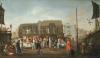 Bartholomew Fair by Egbert Van Heemskerk
