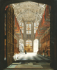 A View Of The Interior Of Henry VII's Chapel, Westminster Abbey, 1827 by John Harwood