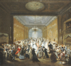 The Subscription Ball In The Haymarket by Giuseppe Grisoni