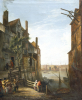 A View Of The Thames At Southwark Looking Towards The City by William Marlow