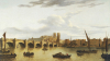 A View Of Westminster Bridge, Westminster Abbey by John Paul