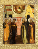 The Appearance Of The Holy Mother Of God To Saints Sergei And Nikon by Christie's Images