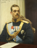 Portrait Of Grand Duke Mikhail Aleksandrovich, 1904 by Ilya Efimovich Repin