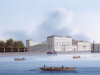 The Ribash House, Views Of St. Petersburg And Its Environs by Russian School