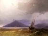 Sailing Off The Crimean Coast, 1871 by Ivan Konstantinovich Aivazovsky