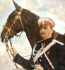 Portrait Of Prince Feliks Feliksovich Iusopov, Count Sumarokov-El'ston, 1909 by Valentin Aleksandrovich Serov
