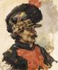 A French Soldier, 1876 by Ilya Efimovich Repin