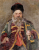 Portrait Of A Cossack Nobleman, 1880 by Ilya Efimovich Repin