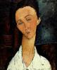 Lunia Czechowska, Circa 1917 by Amedeo Modigliani