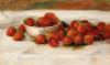 Strawberries. Fraises by Pierre Auguste Renoir