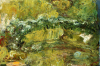 The Japanese Bridge, Circa 1918 by Claude Monet