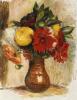 Bouquet De Fleurs Au Pichet De Terre by Pierre Auguste Renoir