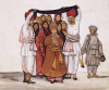 Scenes From A Marriage Ceremony: The Wedding Feast; Kutch School, Circa 1845 by Christie's Images