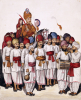 Scenes From A Marriage Ceremony: The Wedding Procession; Kutch School, Circa 1845 by Christie's Images