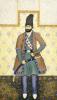 A Qajar Nobleman, Persia, c. 1855 by Abu'l Hasan Ghaffari