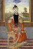 Portrait Of Sultan Fath Ali Shah Qajar, Persia, Qajar, Circa 1850 by Christie's Images