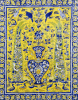 A Qajar Cuerda Seca Tile Panel by Christie's Images