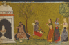 Illustration From A Madhavanala Kamakandala Series. Bilaspur, C. 1680 by Christie's Images