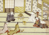 The Wedding. From the Set, The Fox's Wedding, c. 1765 by Tachibana Minko