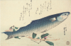 A Design From A Large Fish Series by Utagawa Hiroshige