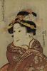 The Actor Iwai Hanshiro V As Yaoya Oshici by Utagawa Kunisada