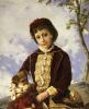 Retrato De Nina by Francisco Oller