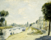 The Banks of the Seine, Circa1875 by Pierre Auguste Renoir
