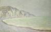 Cliffs At Pourville, 1896 by Claude Monet