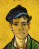 Young Man In A Cap by Vincent Van Gogh