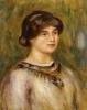 Portrait of Marie Lestringuez by Pierre Auguste Renoir