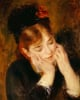 Contemplation. Reflexion, 1877 by Pierre Auguste Renoir