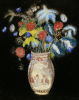 Large Bouquet on a Black Background, Circa 1910 by Odilon Redon