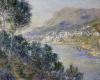 A View Of Cape Martin , Monte Carlo by Claude Monet