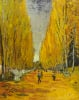 Allée des Alyscamps by Vincent Van Gogh