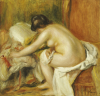 Seated Bather, 1898 by Pierre Auguste Renoir