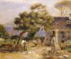 A View of Treboul, Circa 1895 by Pierre Auguste Renoir