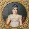 Portrait Of Empress Marie Josephine (1763 - 1814), Wife Of Napoleon by Pierre Louis Bouvier