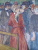 At The Moulin De La Galette, 1891 by Henri de Toulouse-Lautrec