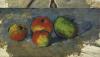 Four Apples, Circa 1879 by Paul Cezanne