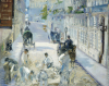 The Rue Mosnier With Workmen, 1878 by Edouard Manet
