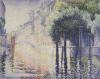 Rio San Trovaso, Venice, Circa1904 by Henri-Edmond Cross