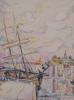 Le Port De Saint-Tropez, 1918 by Paul Signac