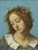 Ophelia (La Fiancee de La Mort), 1842 by Gustave Courbet