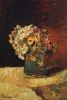 A Vase Of Flowers by Adolphe Joseph Thomas Monticelli