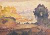 A View Of Menton, 1899 by Henri-Edmond Cross