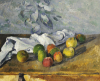 Apples And A Napkin by Paul Cezanne